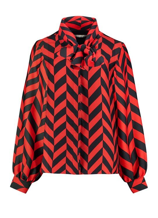 FIFTH HOUSE BLOUSE RUM